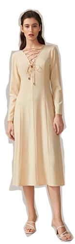SHEIN Стильное платье на шнуровке