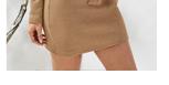 Облегающее трикотажное платье с поясом