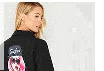 SHEIN Пальто с карманом низ из искусственного меха