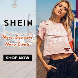 SHEIN -2-Your Online Fashion T-shirts