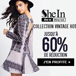 SheIn -Your Online Fashion Vintage Dress