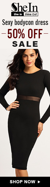 SheIn -Your Online Fashion Bodycon Dress